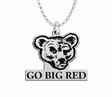 Cornell Big Red Spirit Mark Charm