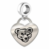 Cornell Engraved Heart Dangle Charm