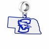 Creighton Bluejays Logo Dangle Charm