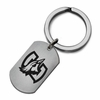 Creighton Bluejays Stainless Steel Key Ring