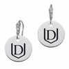 Davenport Panthers Round CZ Cluster Earrings