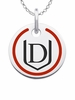 Davenport Panthers Round Enamel Charm