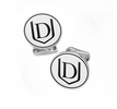 Davenport Panthers Sterling Silver Cufflinks