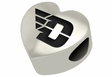 Dayton Flyers Heart Shape Bead