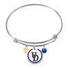 Delaware Blue Hens Bangle Bracelet