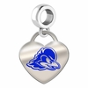 Delaware Blue Hens Color Heart Dangle
