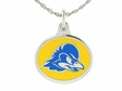 Delaware Blue Hens Silver Charm