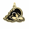 Delaware Fightin' Blue Hens 14KT Gold Charm
