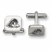 Delaware Fightin' Blue Hens Stainless Steel Cufflinks