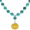 Delta Delta Delta Turquoise Drop Necklace