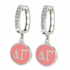 Delta Gamma Hoop Earrings