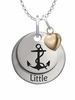 Delta Gamma LITTLE Necklace with Heart Accent