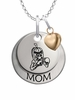 Delta State Statesmen MOM Necklace with Heart Charm