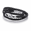 Delta Zeta Sorority Leather Bracelet