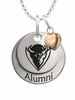 DePaul Blue Demons Alumni Necklace with Heart Accent