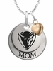 DePaul Blue Demons MOM Necklace with Heart Charm