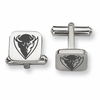 DePaul Blue Demons Stainless Steel Cufflinks
