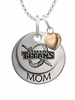 Detroit Mercy Titans MOM Necklace with Heart Charm