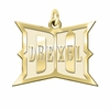 Drexel Dragons 14K Yellow Gold Natural Finish Cut Out Logo Charm