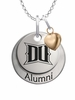 Drexel Dragons Alumni Necklace with Heart Accent