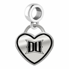 Drexel Dragons Border Heart Dangle Charm