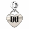 Drexel Engraved Heart Dangle Charm