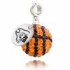 East Carolina Pirates Crystal Drop Charm