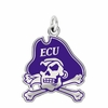 East Carolina Pirates Logo Charm