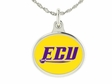 East Carolina Pirates Silver Charm