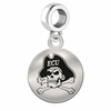 East Carolina Round Dangle Charm