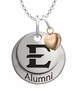 East Tennessee State Buccaneers Alumni Necklace with Heart Accent