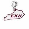 Eastern Kentucky Colonels Logo Dangle Charm