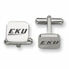 Eastern Kentucky Colonels Stainless Steel Cufflinks