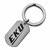 Eastern Kentucky Colonels Stainless Steel Key Ring