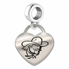 Eastern Kentucky Engraved Heart Dangle Charm