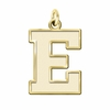Eastern Michigan Eagles 14K Yellow Gold Natural Finish Cut Out Logo Charm