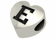 Eastern Michigan Eagles Heart Shape Bead