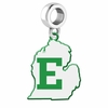 Eastern Michigan Eagles Logo Dangle Charm