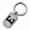 Eastern Michigan Eagles Stainless Steel Key Ring