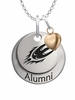 Elon Phoenix Alumni Necklace with Heart Accent