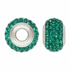Emerald Green Swarovski Crystal Bead