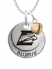 Emory Eagles Alumni Necklace with Heart Accent