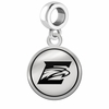 Emory Eagles Border Round Dangle Charm
