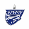 Emory Eagles Logo Charm