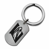 Emory Eagles Stainless Steel Key Ring