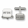 Fairleigh Dickinson Knights Stainless Steel Cufflinks