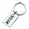 Fairleigh Dickinson Knights Stainless Steel Key Ring