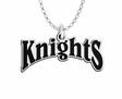 Fairleigh Dickinson Knights Word Mark Charm