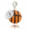 Ferris State Bulldogs Crystal Drop Charm