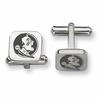 Florida State Seminoles Stainless Steel Cufflinks